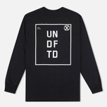 Мужской лонгслив Undefeated UN LS Black фото- 3