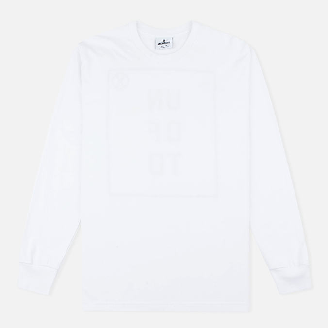 Мужской лонгслив Undefeated UN LS White