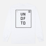 Мужской лонгслив Undefeated UN LS White фото- 3