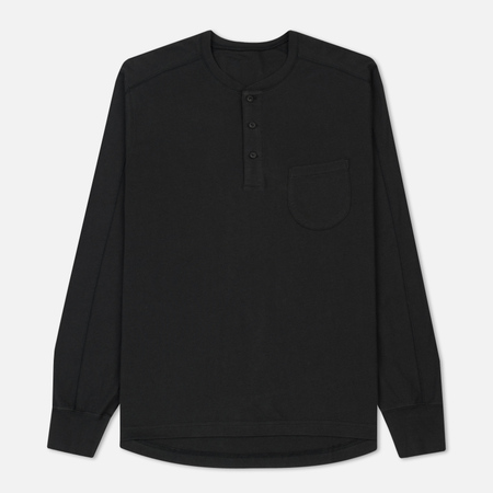 Мужской лонгслив Universal Works Eaton Single Jersey Charcoal