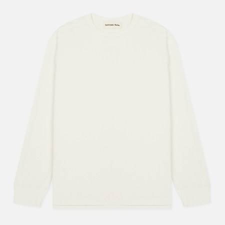 Мужской лонгслив Universal Works Home Crew Lux Jersey Natural