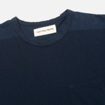 Мужской лонгслив Universal Works Pocket Navy Stripe фото- 1