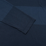 Мужской лонгслив Universal Works Pocket Navy Stripe фото- 3