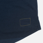 Мужской лонгслив Universal Works Pocket Navy Stripe фото- 2