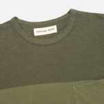 Мужской лонгслив Universal Works Pocket Olive Stripe фото- 1