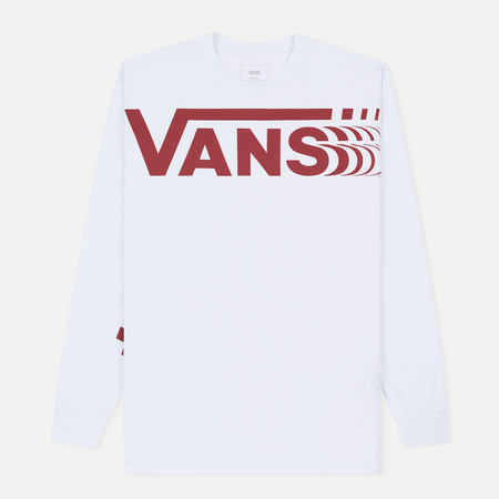Мужской лонгслив Vans Distorted White