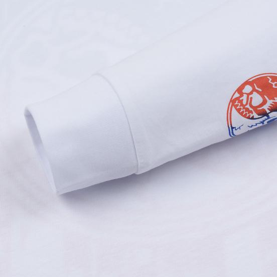 Мужской лонгслив Vans Gradient Skull White
