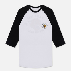 Мужской лонгслив Vans Growler Raglan White/Black