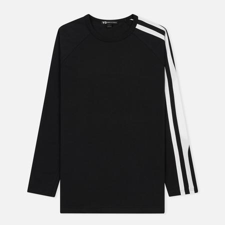 Мужской лонгслив Y-3 3-Stripes Black/White