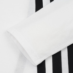 Мужской лонгслив Y-3 3-Stripes LS White/Black фото- 2