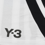 Мужской лонгслив Y-3 3-Stripes LS White/Black фото- 3