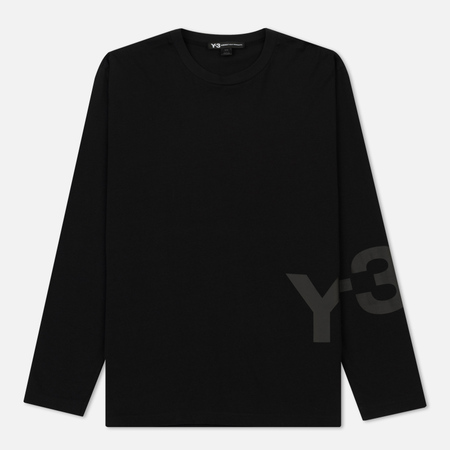 Мужской лонгслив Y-3 Classic Ribbed Crew Neck Black