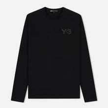 Мужской лонгслив Y-3 Double Logo Black фото- 0