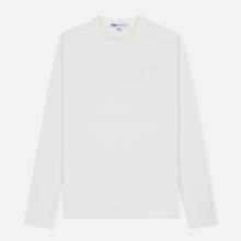 Мужской лонгслив Y-3 Double Logo Core White фото- 0