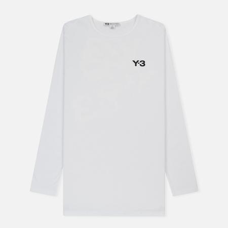 Мужской лонгслив Y-3 Logo White