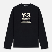 Мужской лонгслив Y-3 Stacked Logo FW19 Black фото- 0
