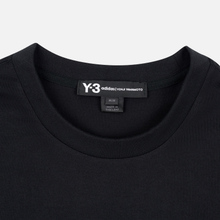 Мужской лонгслив Y-3 Stacked Logo FW19 Black фото- 1