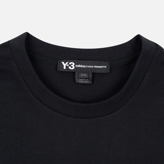 Мужской лонгслив Y-3 Stacked Logo FW19 Black