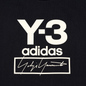Мужской лонгслив Y-3 Stacked Logo FW19 Black фото - 3