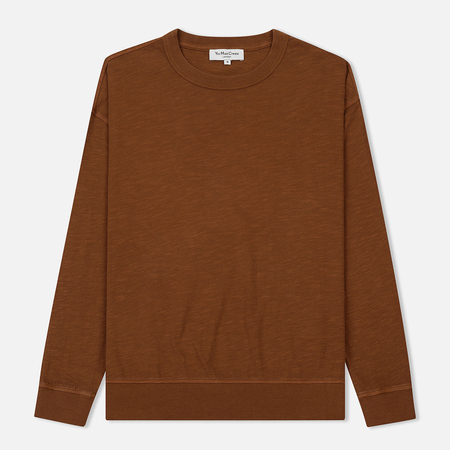 Мужской лонгслив YMC Triple Slub Jersey Brown