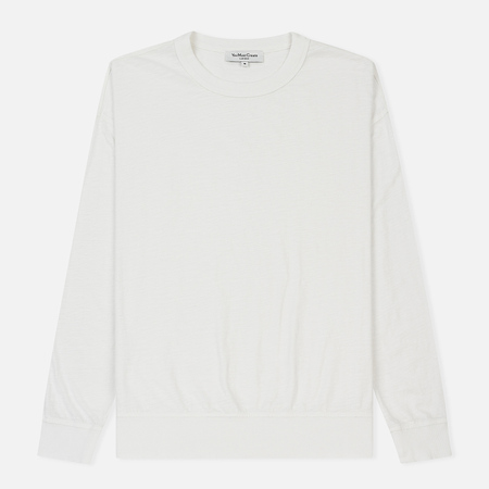 Мужской лонгслив YMC Triple Slub Jersey Cream