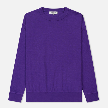 Мужской лонгслив YMC Triple Slub Jersey Purple