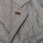 Мужской пиджак Aquascutum Steele Quilted Flannel Grey фото- 4