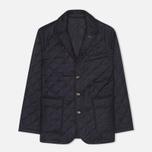 Мужской пиджак Aquascutum Steele Quilted Flannel Navy фото- 0