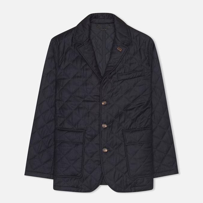 Мужской пиджак Aquascutum Steele Quilted Flannel Navy