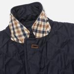 Мужской пиджак Aquascutum Steele Quilted Flannel Navy фото- 3