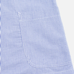 Edwin Prime French Striped Seersucker Men`s Blazer Navy/White photo- 5