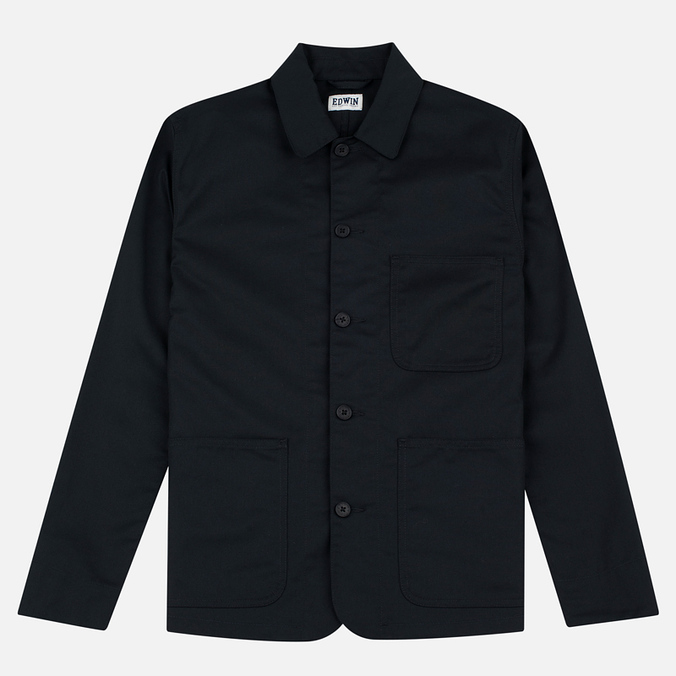 Мужской пиджак Edwin Union Twill 7.25 Oz Black