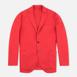Мужской пиджак Hackett Gmd Textured Cotton Red фото- 0