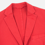 Мужской пиджак Hackett Gmd Textured Cotton Red фото- 1