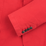 Мужской пиджак Hackett Gmd Textured Cotton Red фото- 3