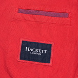Мужской пиджак Hackett Gmd Textured Cotton Red фото- 6