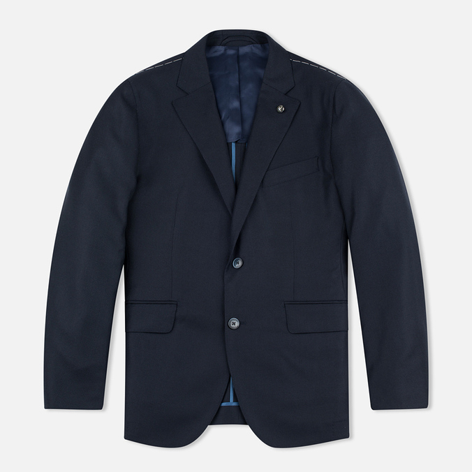 Мужской пиджак Hackett Zero Gravity Navy