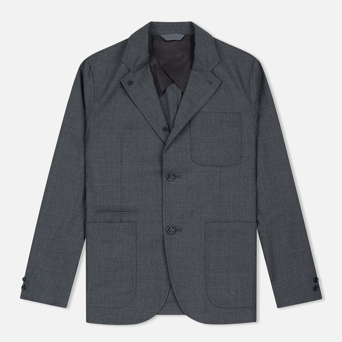 Мужской пиджак Nanamica Club Heather Grey