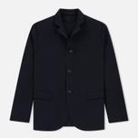 Мужской пиджак Nanamica Club Jacket Navy фото- 0