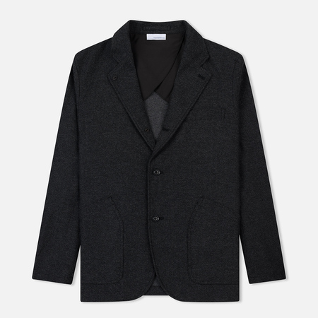 Мужской пиджак Nanamica Club Wool Charcoal