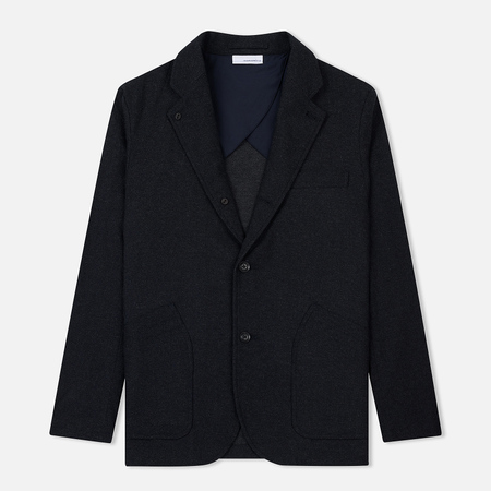 Мужской пиджак Nanamica Club Wool Navy