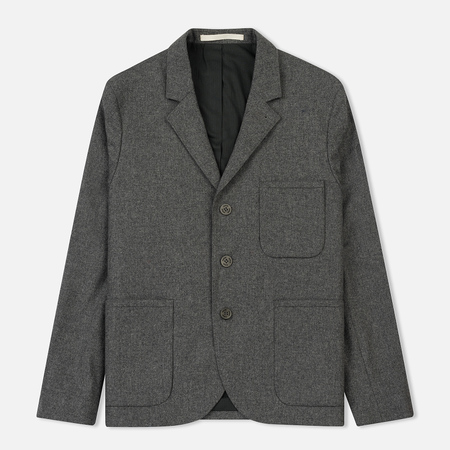 Мужской пиджак Norse Projects Boras Dry Wool Nylon Light Grey Melange