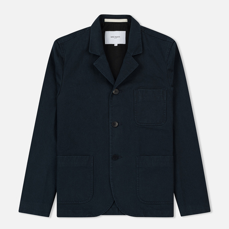 Мужской пиджак Norse Projects Lars Heavy Twill Navy