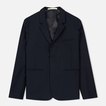 Мужской пиджак Norse Projects Samuel 2.0 Slim Wool Navy