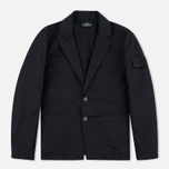 Мужской пиджак Stone Island Shadow Project SB Blazer Twill Black фото- 0