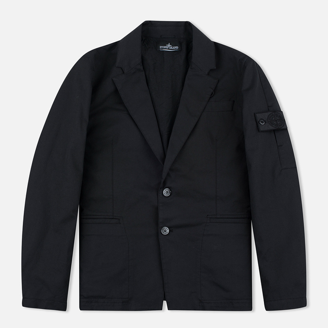 Мужской пиджак Stone Island Shadow Project SB Blazer Twill Black