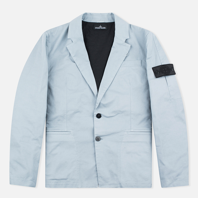 Stone Island Shadow Project SB Blazer Twill Men`s Blazer Grey