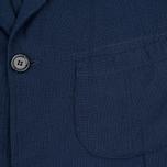 Мужской пиджак Universal Works Barra Panama Cotton Navy фото- 2