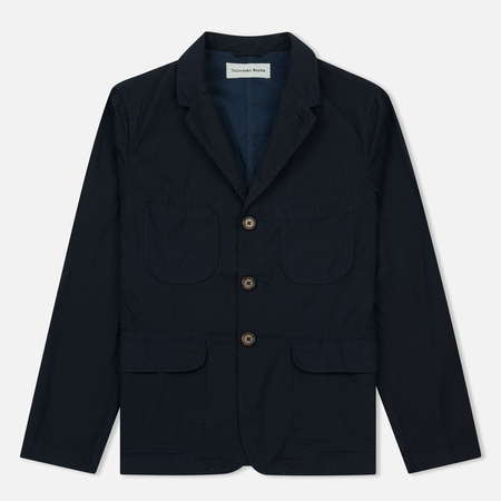 Мужской пиджак Universal Works Barra Poplin Dark Navy