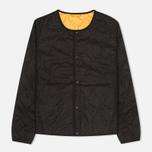 Мужская стеганая куртка Universal Works Chore Grey/Orange фото- 0